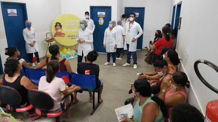 Secretaria de Saúde encerra atividades da campanha Agosto Dourado