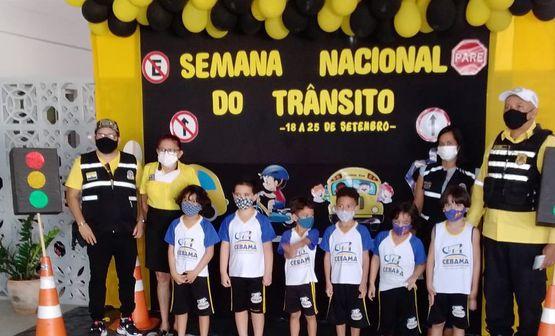 Ações educativas são intensificadas em escolas e shoppings na Semana Nacional do Trânsito em Imperatriz