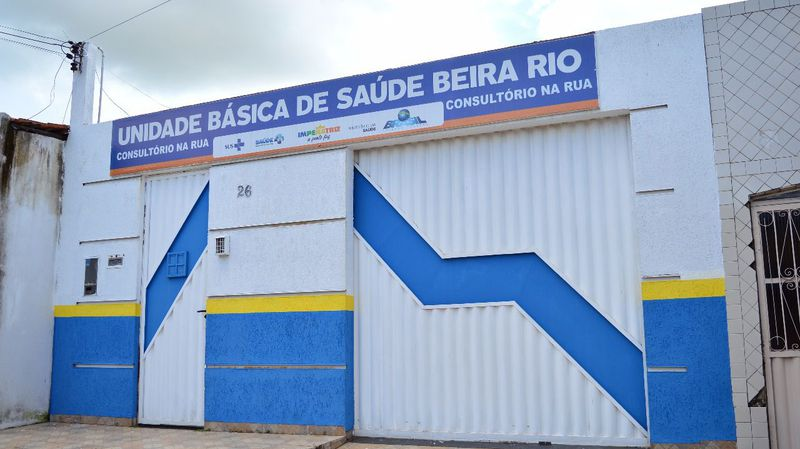 UBS Beira Rio na Rua Cerâmica n°26, Beira Rio