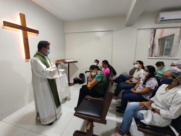 Capela do Socorrão é reativada com o retorno de missas