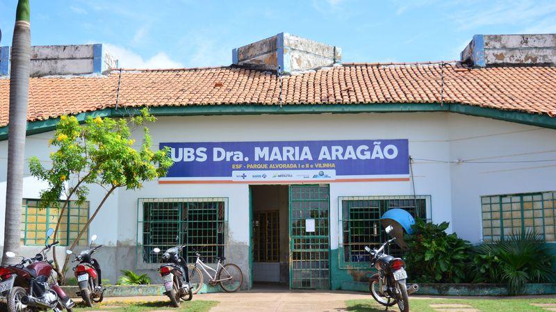 UBS Maria Aragão, Rua Colinas n°3523, Bairro Vilinha