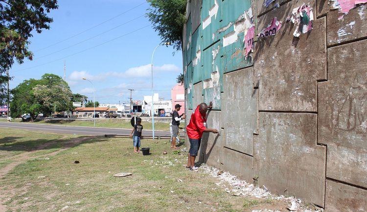 Arte do grafite vai colorir principais pontos de Imperatriz