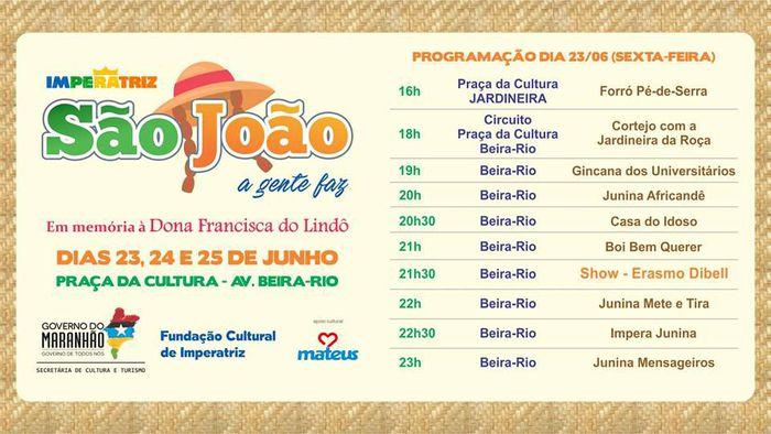 """Apresentações no """"São João, a gente faz"""""""