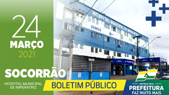 Boletim Socorrão - 24 de março