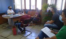 Secretária Rosa Arruda, técnicos da Semmarh e representantes da Enactus Facimp durante alinhamento de parceria