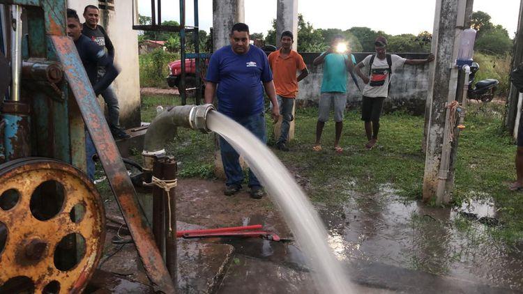Prefeitura restabelece abastecimento de água na Vila Davi 2