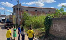 Seplu e Secretaria da Mulher em visita a áreas irregulares no centro