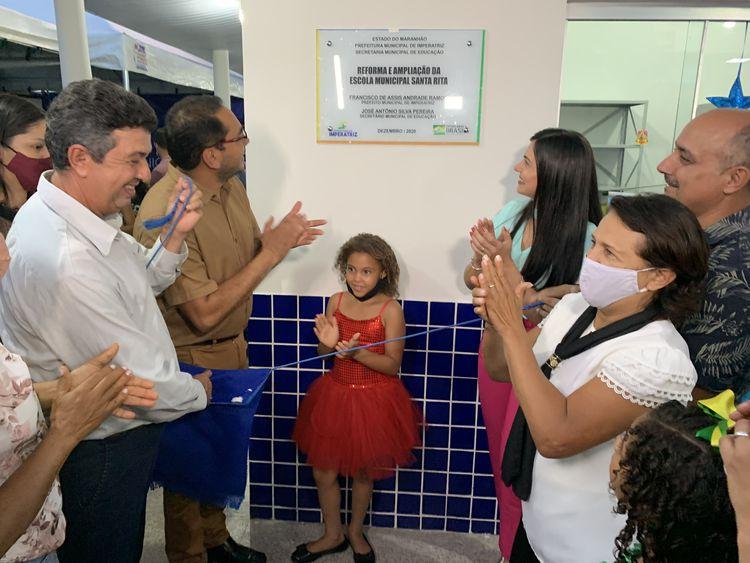 Escola Santa Rita entregue à comunidade da Boca da Mata