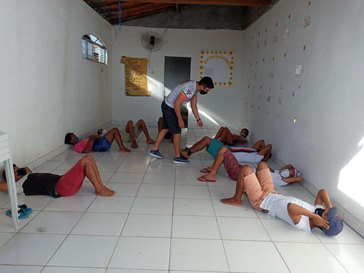 Centro de Referência para a Pessoa em Situação de Rua oferece atividades físicas aos beneficiários