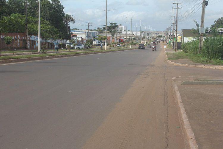 Com  fiscalização eletrônica retirada pelo Estado, aumenta sinistros de trânsito na Avenida Pedro Neiva de Santana