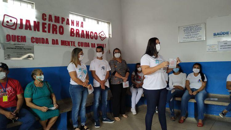Abertura da campanha Janeiro Branco é realizada na UBS Vila Nova