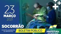 Boletim Socorrão - 23 de março
