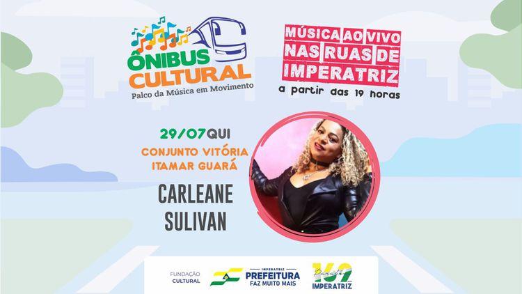 Ônibus Cultural realiza apresentação no Conjunto Vitória e Itamar Guará