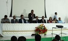 A Conferência ocorreu durante toda a tarde e as propostas de alteração foram aprovadas pela plenária.