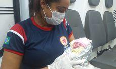 A pequena Maria Helena veio ao mundo na madrugada da última quinta-feira,15, no Povoado Coquelândia.