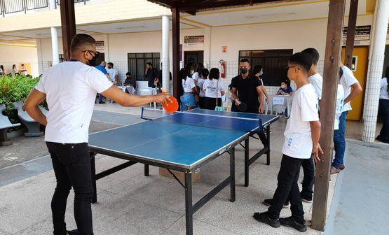 Equipe da Secretaria de Esporte participa do Profest