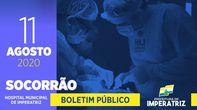 Boletim do Socorrão - 11 de agosto