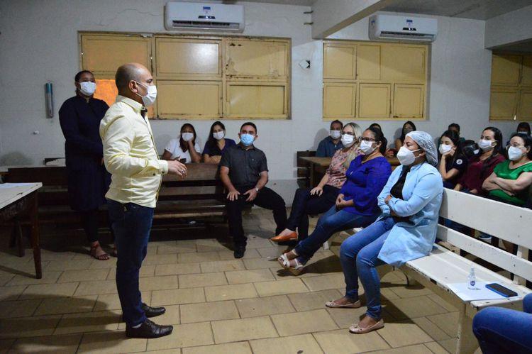 Novos membros da Comissão Interna de Prevenção de Acidentes tomam posse no Hospital Municipal