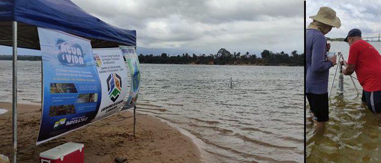 Semmarh participa de estudos para avaliação da qualidade da água do rio Tocantins