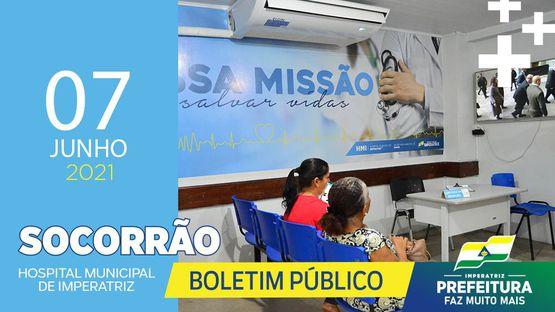 Boletim Socorrão - 07 de Junho