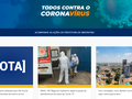 Painel Coronavírus adiciona todas as situações referentes ao enfrentamento da pandemia