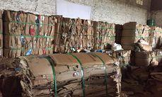 Do total de material coletado o destaque é para o papelão com 106.244 toneladas