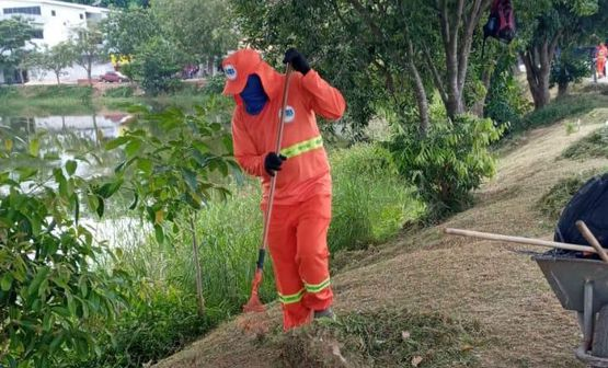 Ações de limpeza urbana são realizadas pela Prefeitura