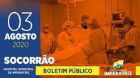 03 de Agosto - Boletim do Socorrão