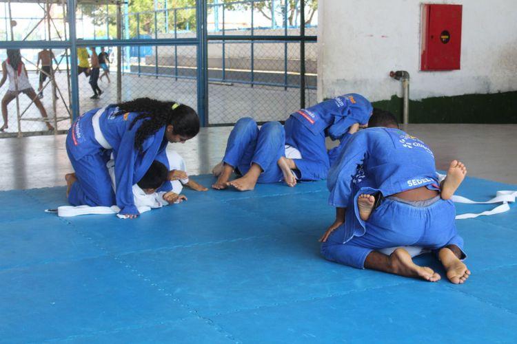 Prefeitura cria terceiro núcleo e amplia projeto Jiu-Jitsu nas Escolas