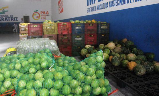 Prefeitura adquire 320 toneladas de produtos da Agricultura Familiar