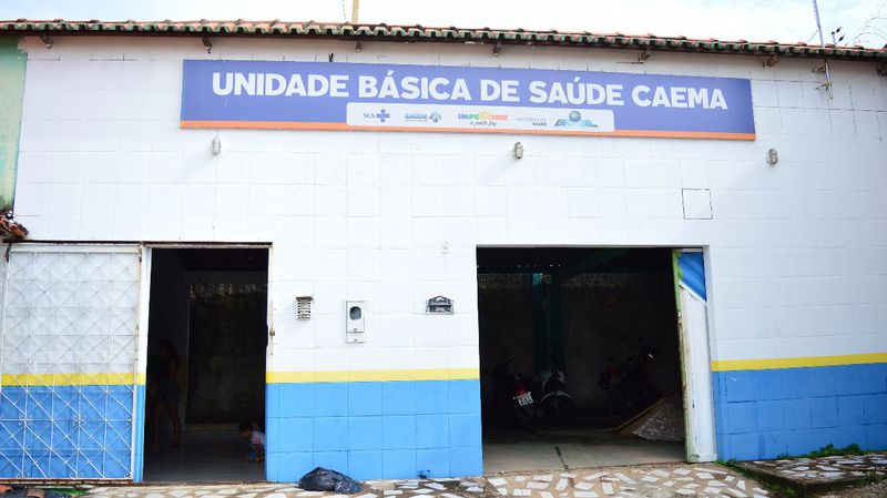 UBS Caema da Rua Projetada nº 08, Caema