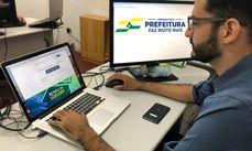 Para gerar a senha de acesso é necessário fazer cadastro com número de CPF, data de nascimento e e-mail
