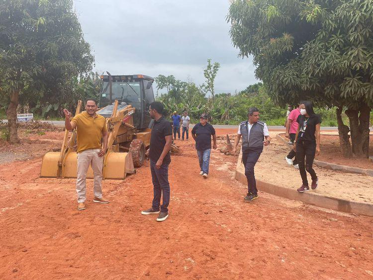 Povoado 1700 recebe pavimentação, drenagens, reforma da Unidade Básica de Saúde e nova praça