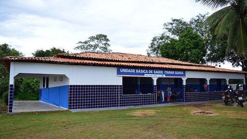 Reforma da UBS Itamar Guará na Rua principal s/n, Vila Itamar Guará