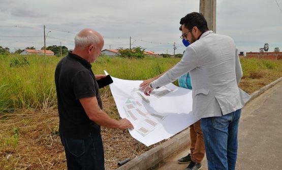Prefeitura realiza levantamento de áreas institucionais do município