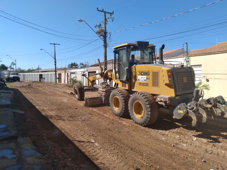 Programa de melhoria de vias urbanas avança nos bairros de Imperatriz