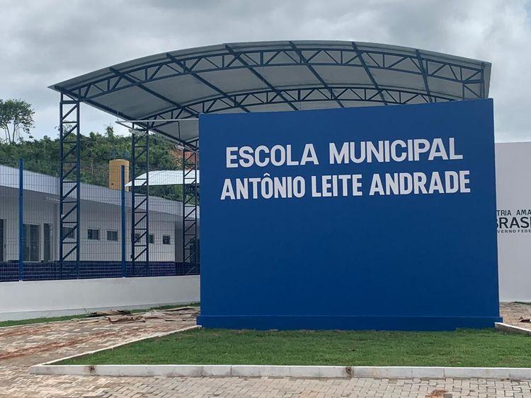 Escola do Sebastião Regis será inaugurada dia 15