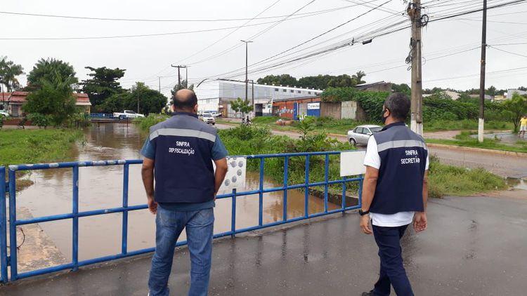 Obras de drenagem diminuem pontos de alagamentos nos bairros de Imperatriz