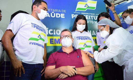 Imperatriz inicia vacinação contra a Covid-19
