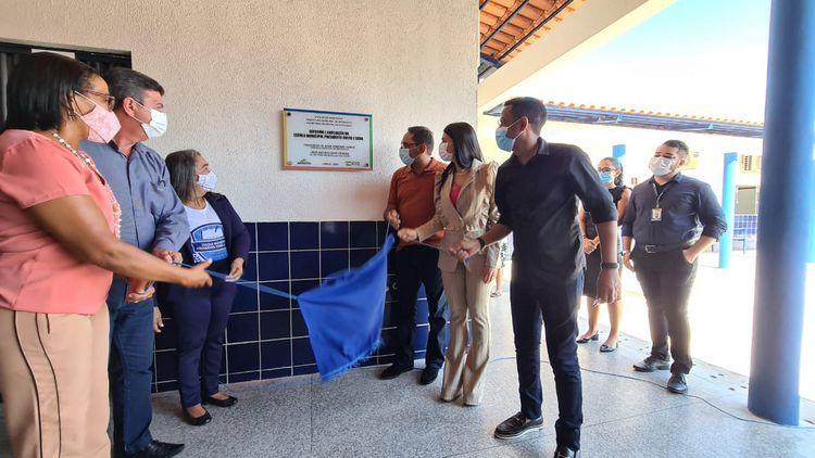 Escola Presidente Costa e Silva de cara nova após reforma, ampliação e climatização